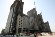 The first residential units are expected to be ready in early 2011.