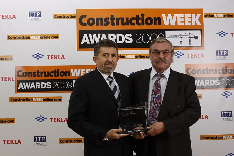 DBB picked up the award for the Interchange 5.5 project