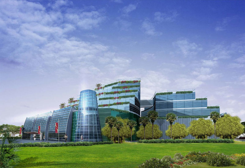 Reem supplied aluminium to the Danet Mall project in Abu Dhabi.