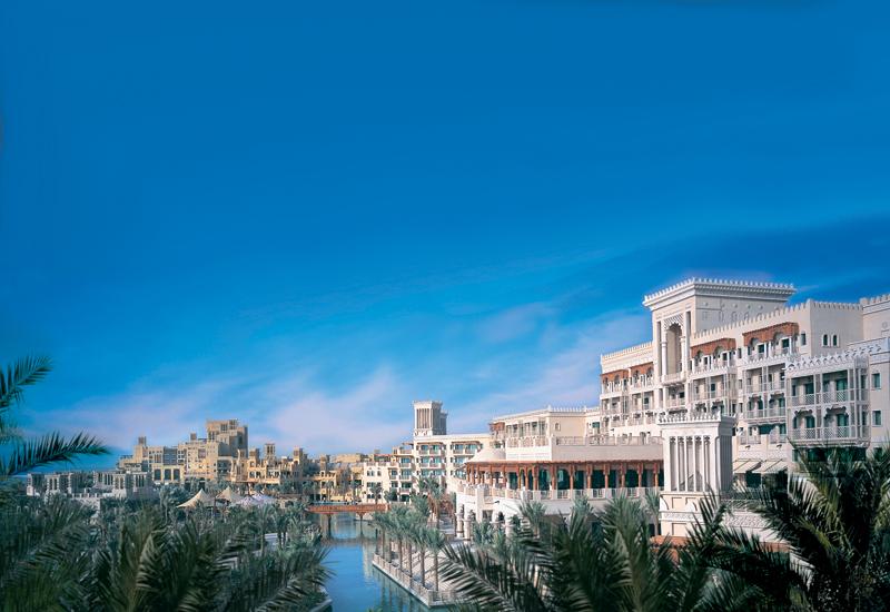 Designs for the Al Qasr Hotel in Dubai's Madinat Jumeirah