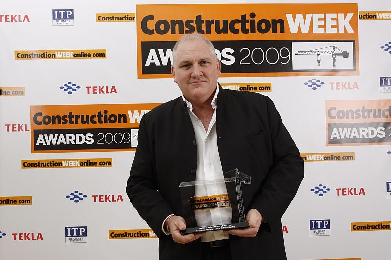 Grahame McCaig has won the Construction Week Health and Safety Manager of the Year award