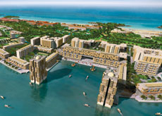 DEVELOPING NICELY: Madinat Al Arab is just one component of the Dubai Waterfront project.