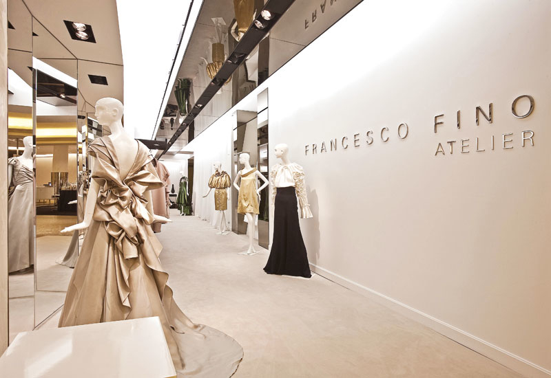 Francesco Fino Atelier, The Plaza, New York.