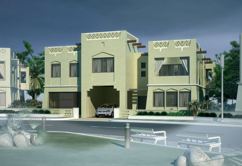 A home in Yemen designed in a local architectural language