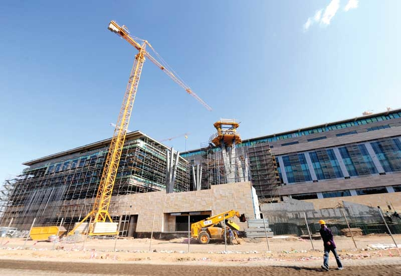Saudi Oger is the main contractor on the construction of KAUST.