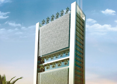 Artist's impression of the platinum rated tower.