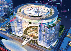 Plazas are planned for Downtown Jebel Ali.