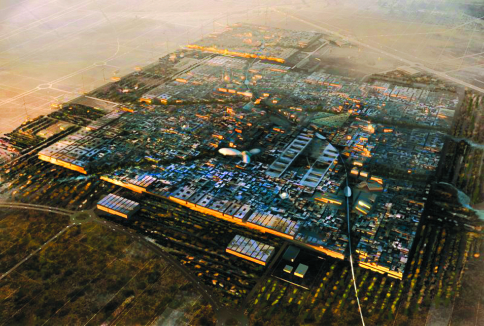 Projects like Masdar City are being built to be sustainable