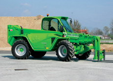 Tele handling: The Merlo telescopic handlers are new to the region but FAMCO thinks they will have a big impact on sales.