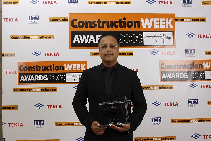 GTCC?s Moustafa Hassan has won the Construction Week Project Manager of the Year award.