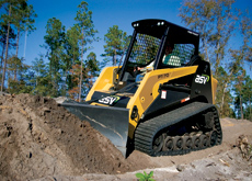 SHOVEL HEAD: Buy the right skid-steer loader and you will have a versitile tool at your disposal.