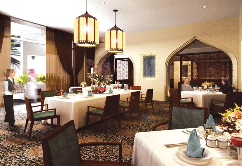Zeeba is the hotel's Persian restaurant.