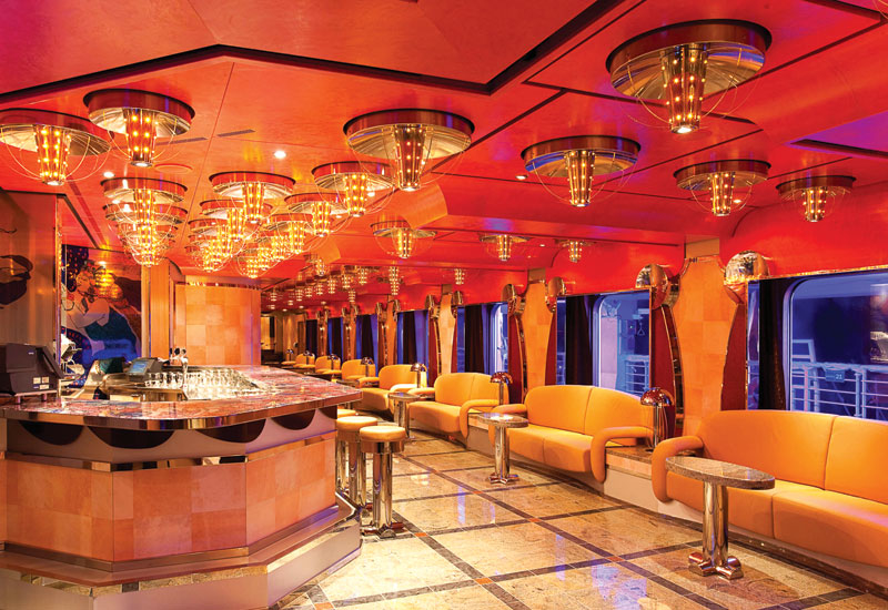 It is important to apply 'eclecticism' with cruise ship interiors, according to the designer of the Costa Deliziosa, Joseph Farcus.