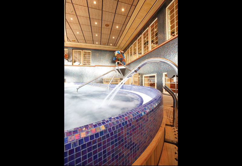 The Samsara Spa is one of the most luxurious wellness facilities ever built on a cruise liner.