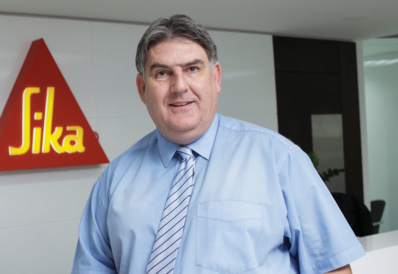 The sika group's Rodney van Eck.
