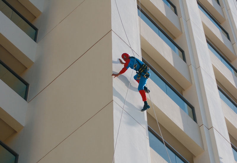 Spider-Style's technicians are all highly-trained, highly-skilled and experienced abseilers.