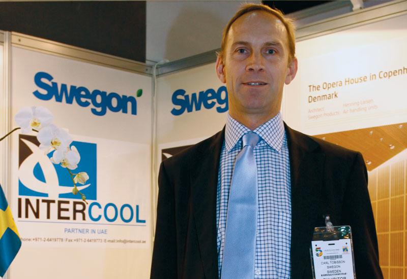 Swegon business development director Carl Tobisson
