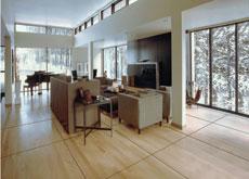 Maple wood flooring. Courtesy of National Wood Flooring Association.
