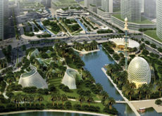 Carol R Johnson-designed Abu Dhabi park voted best development at CNBC awards.