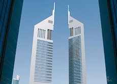 Green claims Emirates Towers in Dubai are only 60% efficient.