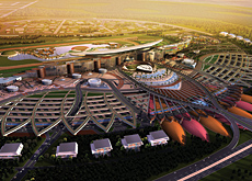 The architecture of Meydan will be designed with environmental sustainability in mind; racetrack surfaces will be designed by the Joseph H King compan