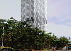 India Tower is designed to LEED gold status.