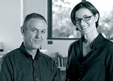 Patrick Collins and Isabelle Vergnaud created Collins Vergnaud after working together in Singapore for Kerry Hill Architects.