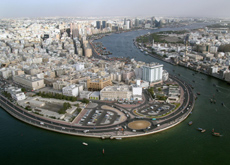 Dubai Creek currently has five points at which to cross, made up of four bridges and one tunnel. (Getty Images)