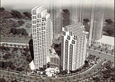 Business Bay: shoring and mobilisation work on the two towers has already been carried out.