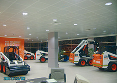 In constructing the showroom, Bahrah Trading Company is attempting to move away from the use of outdoor compounds for plant display.