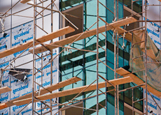 Scaffolding in Dubai will now undergo rigourous safety checks and accreditation procedures. (Dmitry Dolzhanskiy/ITP Images)