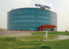 First platinum rated green building in the Middle East: Pacific Controls. Abu Dhabi hopes to take green buildings and sustainability to a new level.