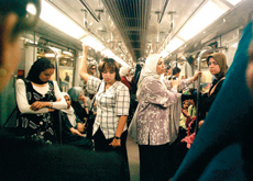 The first subway line on the Cairo Metro, which runs beneath the River Nile, was opened in 1999 to relieve traffic congestion in the city.