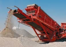The recycling of construction waste is expected to provide civil contractors with usable aggregate for roads.