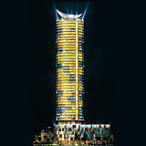 Time Residences will rotate 360? every seven days by application of solar power.