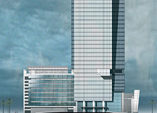 Face of vision tower