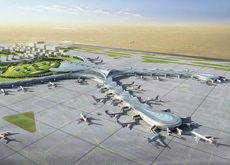 FLYING HIGH: Abu Dhabi's International Airport will be one of the Middle East's largest.