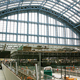 The Thameslink station will run underneath St Pancras station.