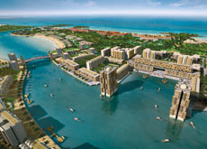 LANDING THE JOB: RAK Properties awarded Darwish the contract for infrastructure works on its Mina Al Arab project last year.