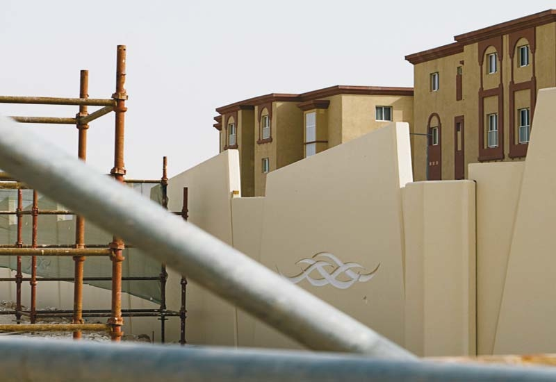 Barwa Village covers an area of 400,000m?.