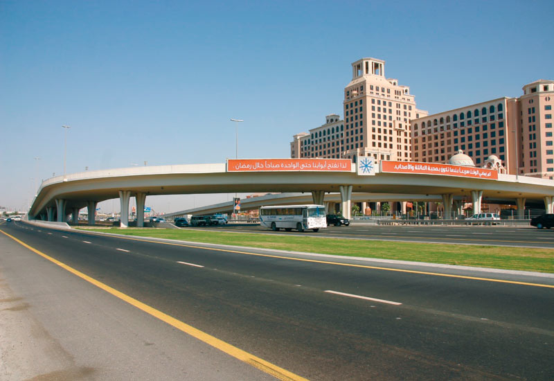 Multistrand post-tensioning was supplied to build the Mall of Emirates access bridge.