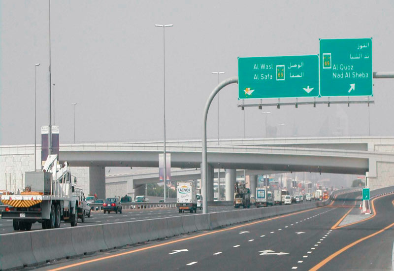 Structural systems provided pre-stressing services for Interchange No.2, Sheikh Zayed Road.