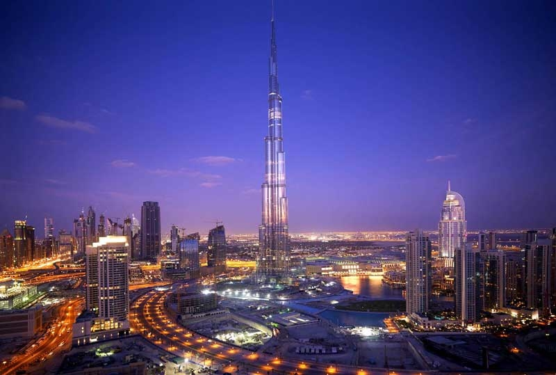 The world's tallest building by a massive margin.
