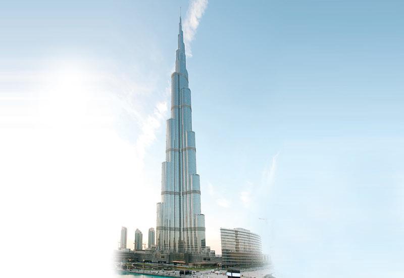 The Burj Khalifa in downtown Dubai