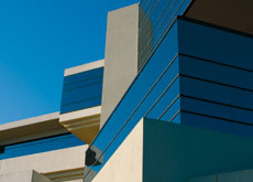 Modernist architecture often uses concrete to achieve clean lines and simple forms.
