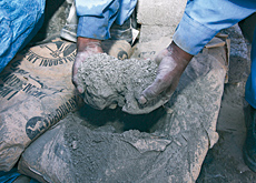 The ins and outs: GCC countries will soon have a surplus of cement, and will have to switch focus from import to export for the product. (Valeriano Ha