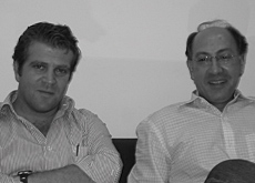 HDD Interiors? founders and co-owners, Jean Habis (left) and Elie Dib.