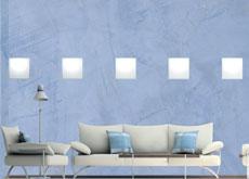 A calming colour scheme by Sigma.