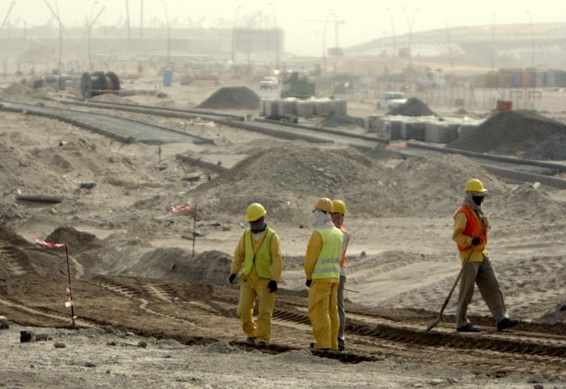 Construction on site is at an advanced stage, according to Rakeen