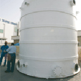 Treated effluent from Concorde-Corodex's MBR plant.